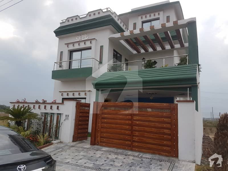 Slightly Used Facing Park 10 Marla Beauriful House For Sale In Lda Avenue 1