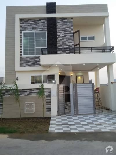 5 Marla Double Unit Brand New And Ideal Location House For Sale