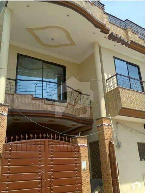 5. 5 Marla Corner Triple Storey House For Sale