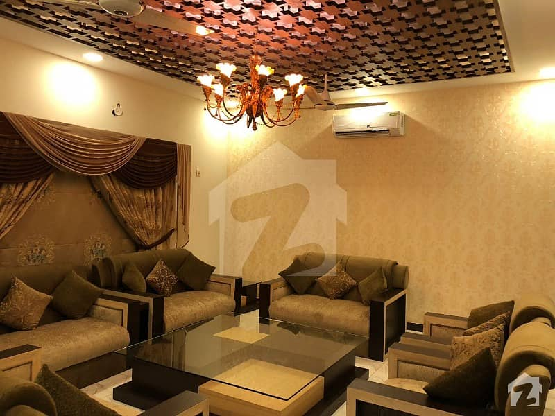 650 Sq Yds Brand New House Designer Furnished With Acs Led Cctv