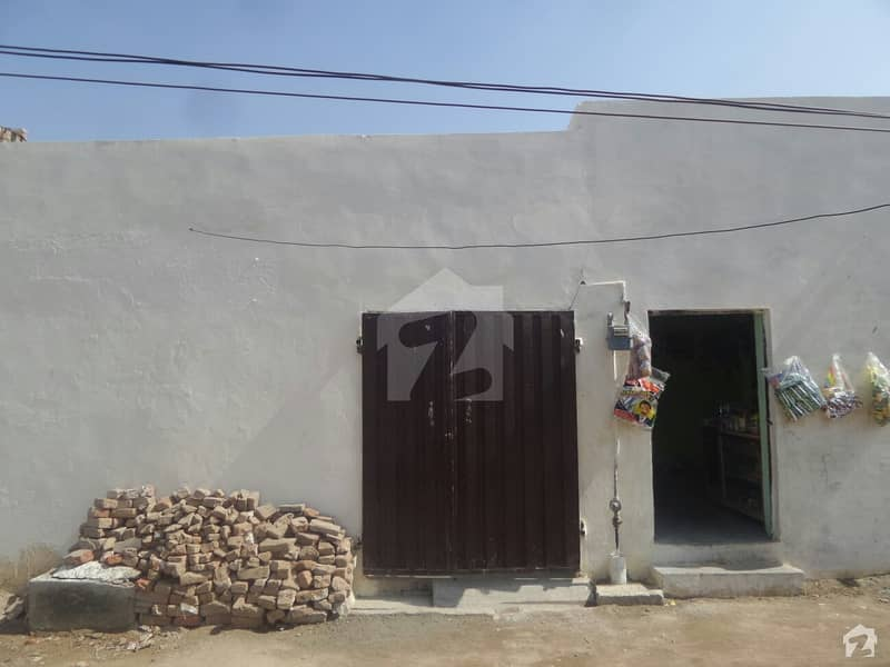 Single Storey Beautiful House For Sale At Kot Ghulam Muhammad, Okara