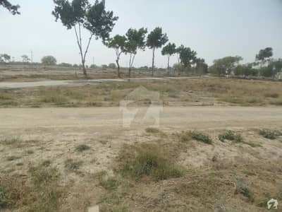 Residential West Open Plot Is Available For Sale In Saadi Garden