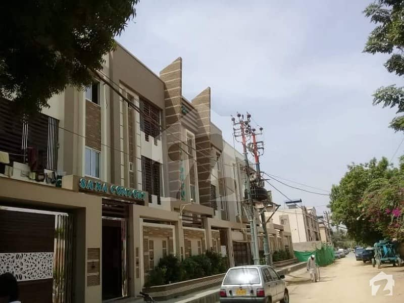 Project Of Sana Comfort 2 Bed Luxury Flat Is Available For Sale Kashmir Road