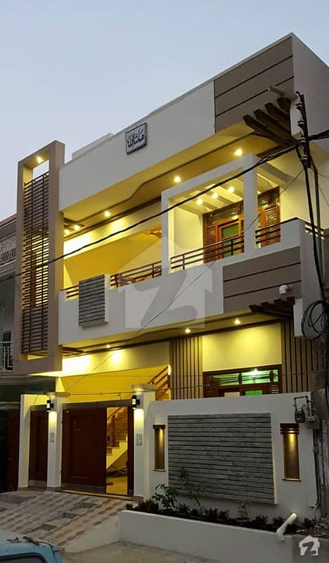 240 Sq Yd House Luxury Dream House 6 Bed D/D At Saadi Town Block 4