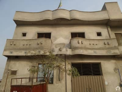 Double Storey Beautiful House For Sale At Fawad Villas, Okara