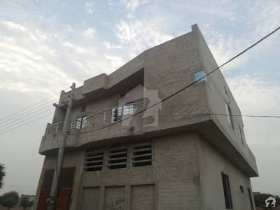 Double Storey Beautiful Corner House For Sale At Noor Garden, Okara