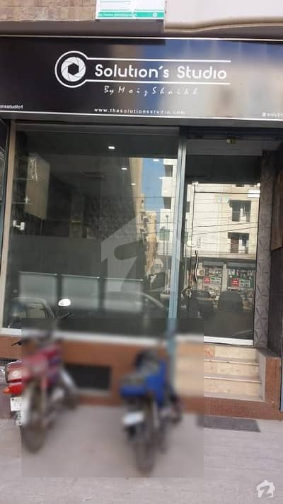 Brand New Shop For Sale In Dha Ph-7 Nice Location