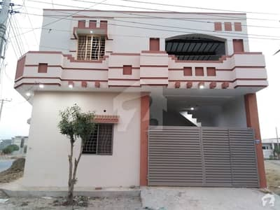 3. 5 Marla Corner Double Storey House For Sale