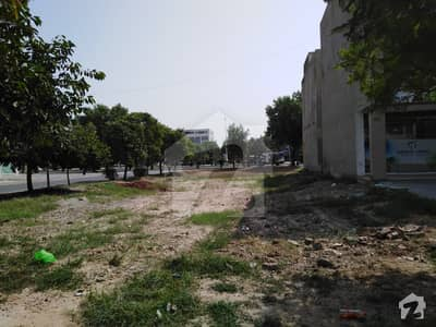 5 Marla Corner Commercial Plot For Sale  Back Of Main Boulevard