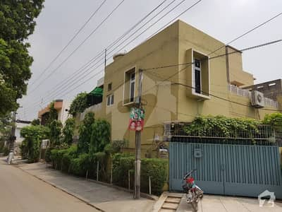 Model Town 10 Marla Corner House For Sale