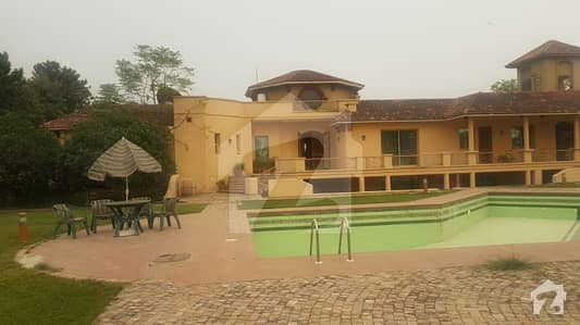An Excellent 20 Kanal Farm House 4 Beds Study Pool Open Air Theater Etc