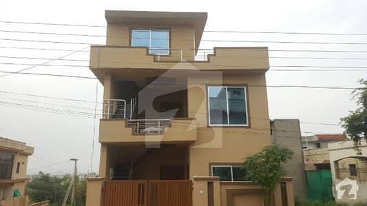 Double Storey Corner House For Sale In E Block Soan Garden Islamabad