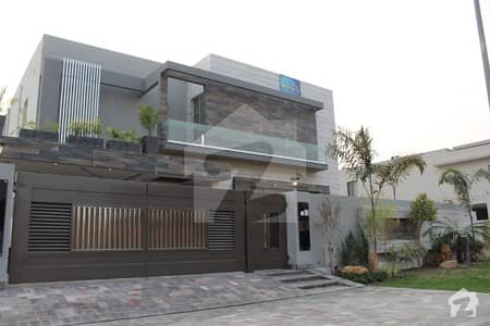 1 Kanal  Brand New Out Class Modern Luxury Bungalow For Sale