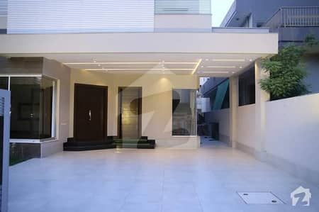 1 Kanal Brand New Double Unit Stylish Famous Architecture Designed Bungalow For Sale In State Life Housing Phase 1