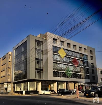 1763 Square Feet Office Space Available For Rent at Bukhari Commercial Area