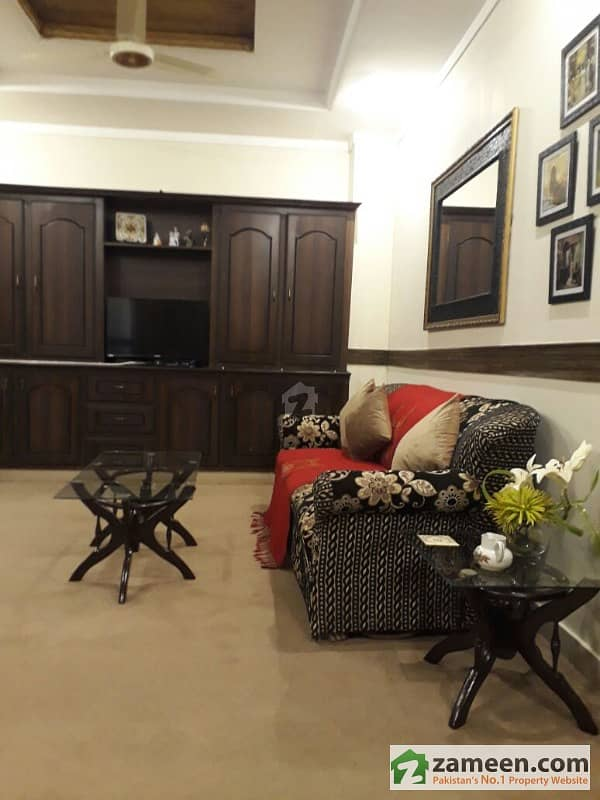 Beautiful Fully Furnished  Family Apartment For Rent In Bahria Town