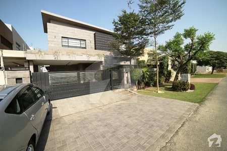 Syed Brothers Offers 1 Kanal Spanish Brand New Out Stander Proper Double Unit Most Elegant Bungalow For Sale In Dha Phase V