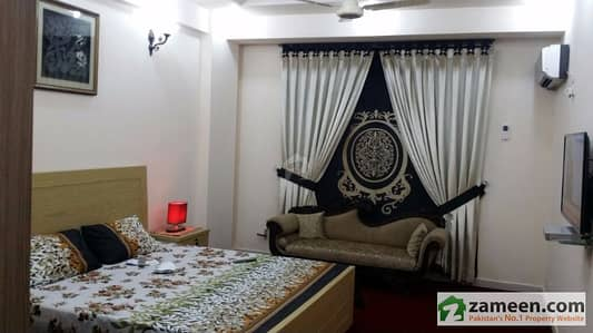 Out Class Studio Fully Furnished Apartment In Bahria Town