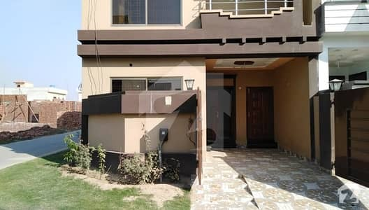 Corner Brand New Double Storey 5 Marla Beautiful House Is Available For Sale In Park View Villas Multan Road