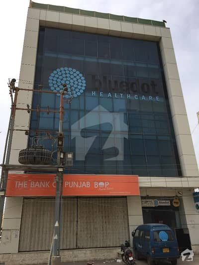 200 Square Yard Office Building Available For Sale At Most Prime Location Of Shahbaz Commercial Area Phase 6 Dha