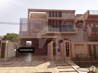 1 Kanal Modern Architect Brand New Luxury Designer Bungalow Is Available For Urgent Sale Facing Park Near LDA Office