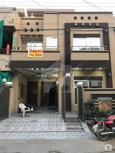 5 Marla Brand New Beautifully Designed House Available For Sale On Top Location Of Wapda Town