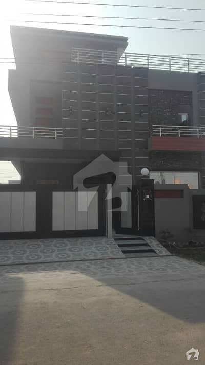 A Block Facing Park 10 Marla Brand New House For Sale