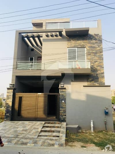 5 Marla Beautiful Brand New House Up For Sale