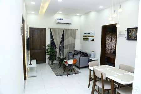 2 Bed Rooms 1300 Sq. Feet Flat Is Up For Sale In Bahria Town Phase 8 - Eden Lake View Block