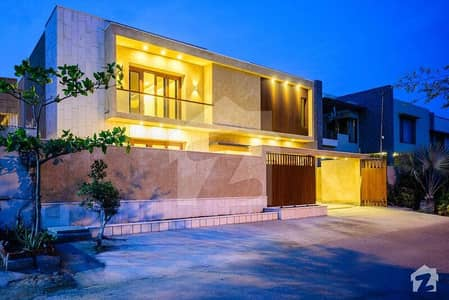 House Like Never Seen Before 600 Yards West Open With All Modern Facilities In DHA Phase 6