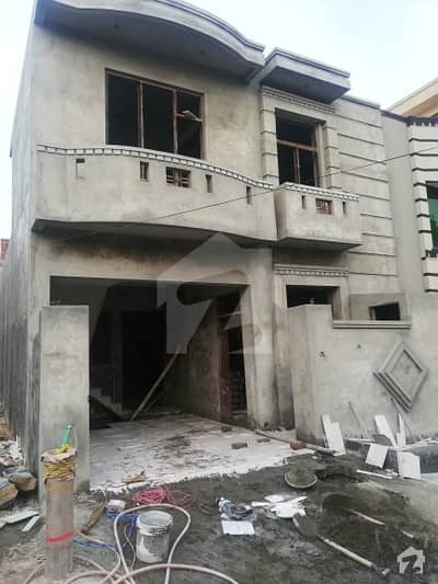 5 Marla Single Storey Under Construction House For Sale