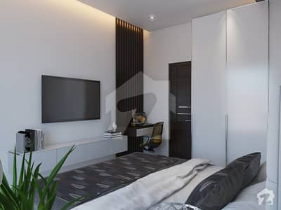 1 Bed Apartment Facing Eiffel Tower Full Furnished In Sector C Bahria Town