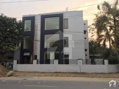 1 Kanal Corner Newly Constructed Triple Storey Building For Sale