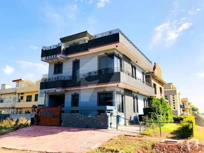 Corner Luxury 4. 5 Marla House With Basement For Sale