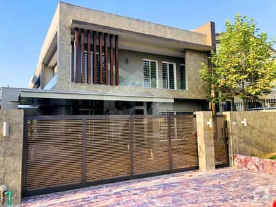 Brand New 1 Kanal Triple Unit Luxury House For Sale With Huge Lawn At Back