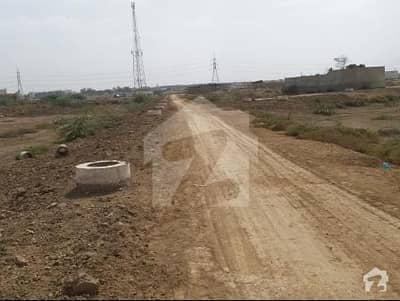 Low Investment 120 Sq Yard Plot For Sale In Pir Gul Hassan Town Super Highway M9 Location