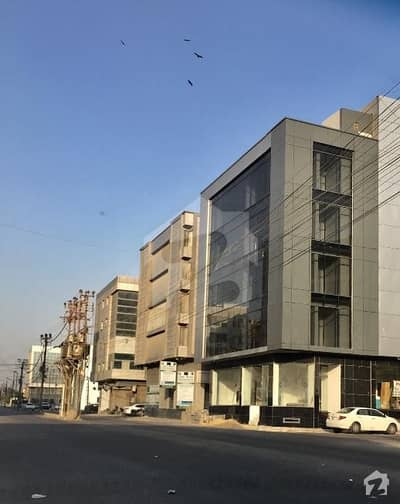 Brand New 100 Yards Office Building Available For Sale At Most Prestigious Location Of Bukhari Commercial Area