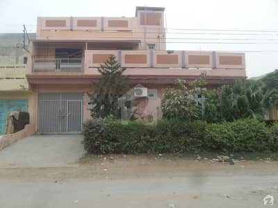 Double Storey House For Sale - 60 Feets Road Both Sides