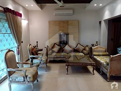 Slightly Used 1 Kanal Fully Furnished Lower Portion Is Available  On Rent