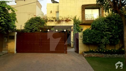 Beautiful Double Storey House With Basement For Sale In Johar Town Lahore