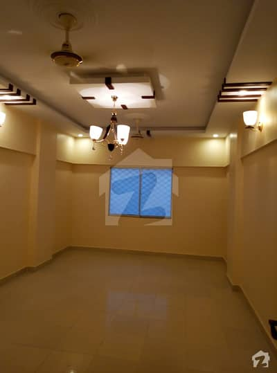 A Well Maintained Flat For Sale In Shumail Arcade Block 17 Gulistan E Jauhar Karachi
