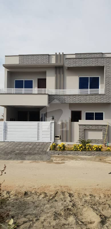 10 Marla Brand New Out Standing House Available In G-13 Islamabad Near To Main Double Road