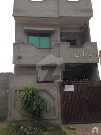 3 Marla House In Block H