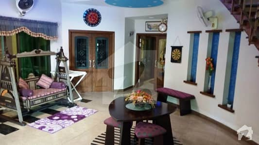 Johar town 2275 Marla facing park  50road fully furnished Spanish gorgeous bungalow for urgently sale on top location