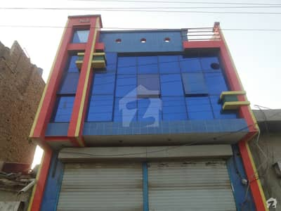 Double Storey Beautiful Commercial Building Available For Rent At Faisalabad Road Okara