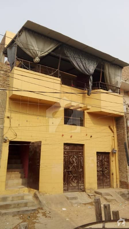Safe Area Location House For Sale In Latifabad Unit 10 Block C