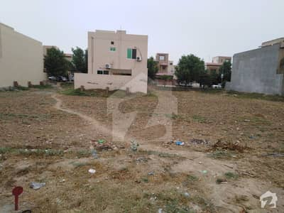 1 Kanal Plot 80 Feet Road Janipar Block Facing Grand Mosque Bahria Lahore