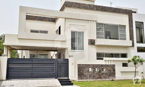 9 Marla Brand New Double Unit Double Storey Mazhar Munir  45 feet front elevation  Solid Construction Bungalow for Sale Block D Phase 6 DHA Defence Lahore