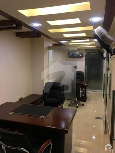 Fully Furnished Main Road Office In Clifton Block 8 Near Teen Talwar Urgent Sale