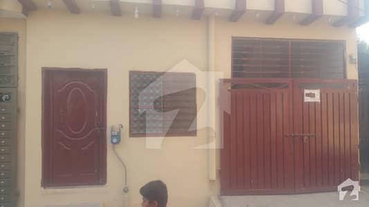 5 Marla Single Storey House For Sale In Morgah Malik Tahir Colony